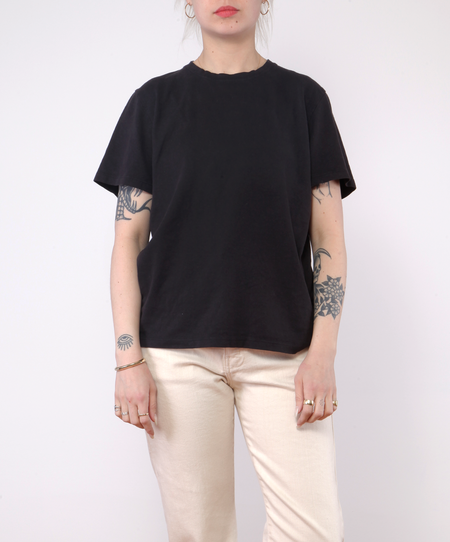 unisex Jungmaven Baja Tee - WASHED BLACK