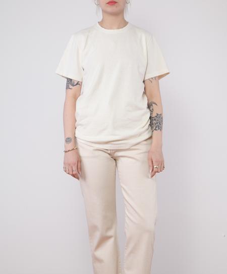unisex Jungmaven Baja Tee - WASHED WHITE