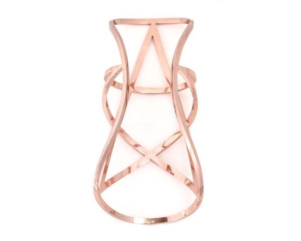 Pamela Love Pentagram Cuff - Rose Gold