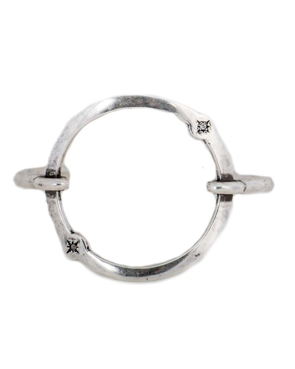 Pamela Love Orbit Cuff - Antique Silver