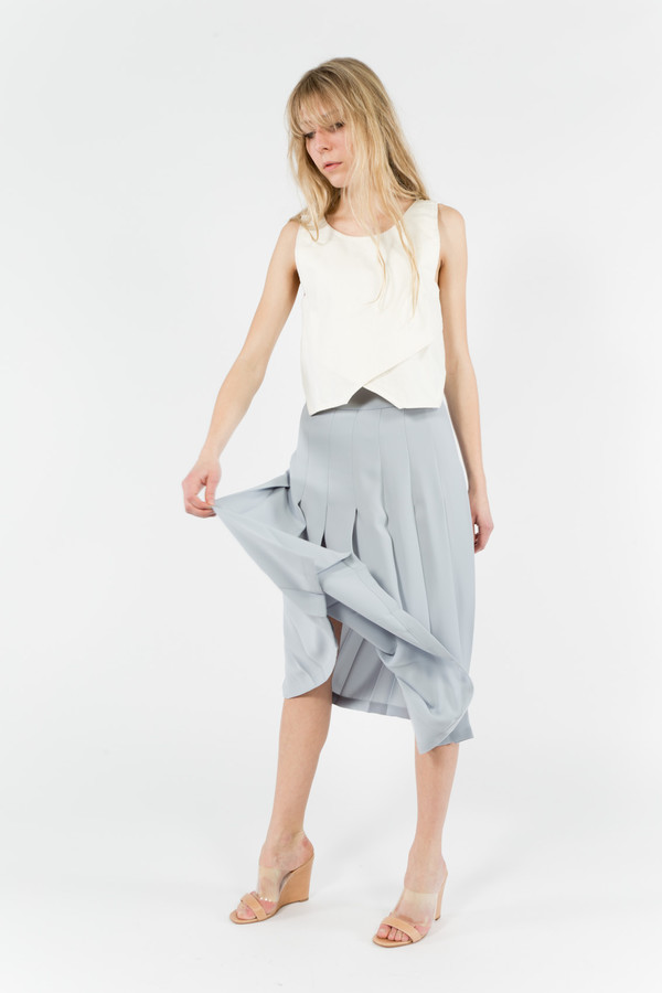 Nomia Midi Pleated Skirt