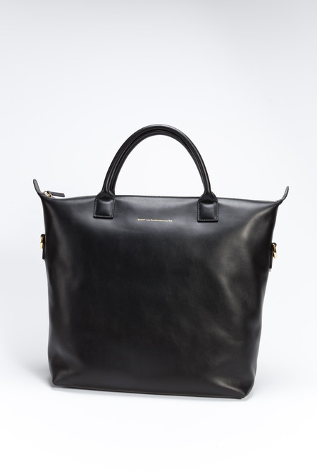 WANT Les Essentiels de la Vie Mirabel Shopper Tote Black
