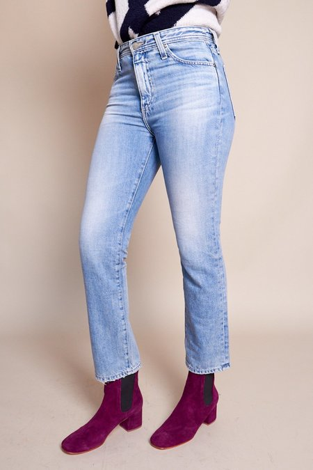 AG Jeans Isabelle High Rise Straight Crop - 16 Years Habitual