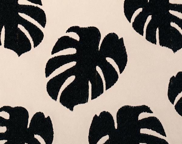 Lizzie Fortunato Cream Palm Zip Pouch
