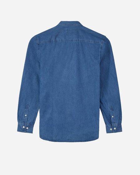 Minimum Walther Shirt - Medium Blue