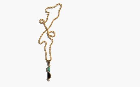Vintage Kindred Black Molto Vivace Necklace