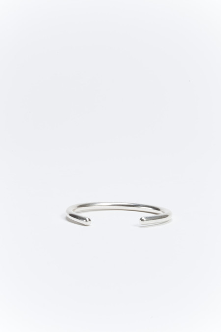 Another Feather Pace Cuff Silver