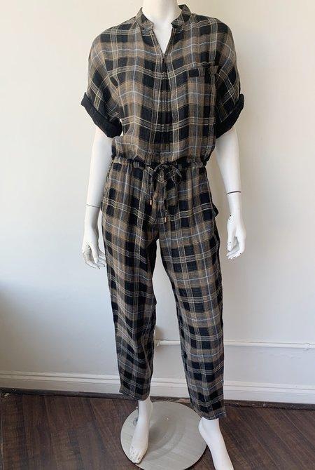 Apiece Apart Athena Chill Jumpsuit - Lurex Flannel