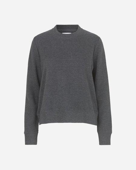 Samsoe & Samsoe Apin O-N Sweatshirt - Dark Grey Melange