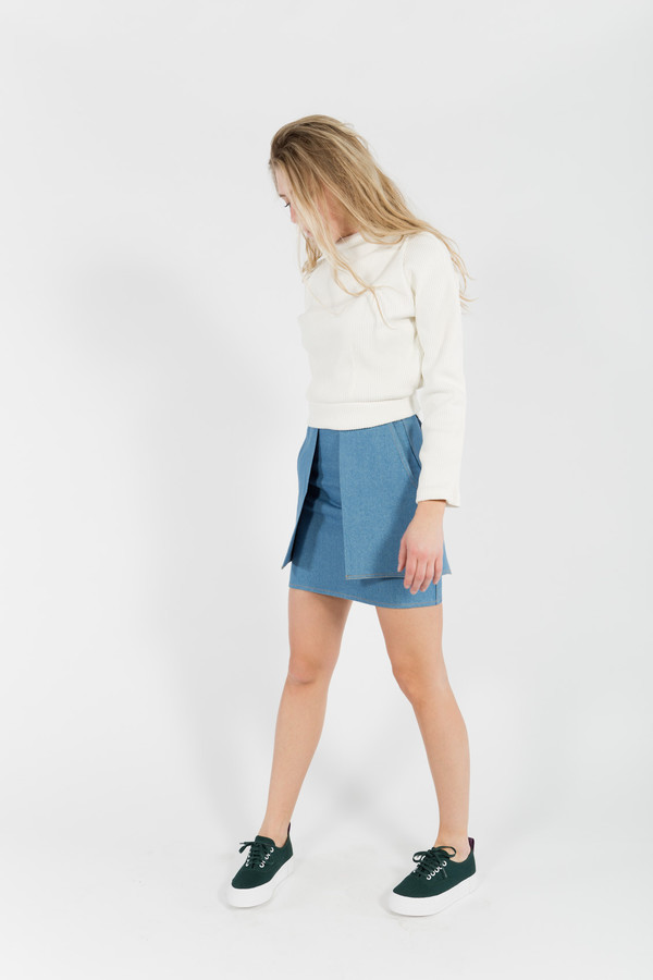Eckhaus Latta Pocket Skirt