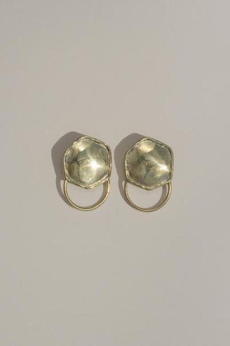 Mondo Mondo Aries Earrings - Sterling Silver