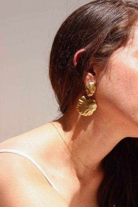 Ariana Boussard-Reifel artemisia earring - short - brass