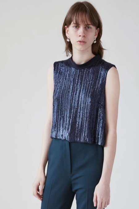 Rachel Comey Cropped Una Top - Midnight