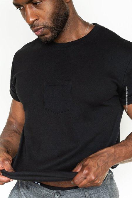 Unisex Maison Ogé The Original Centered Pocket T-Shirt - Black