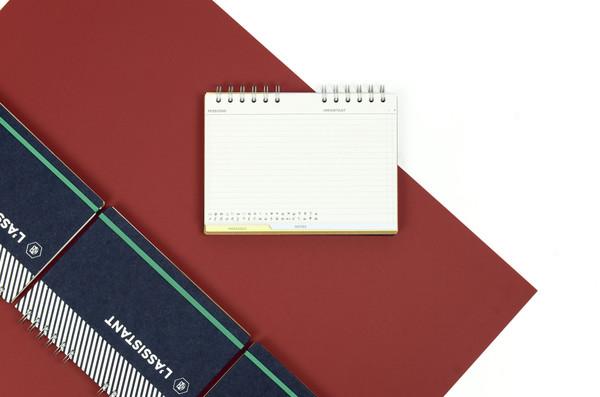 Papier Tigre : The Assistant Agenda