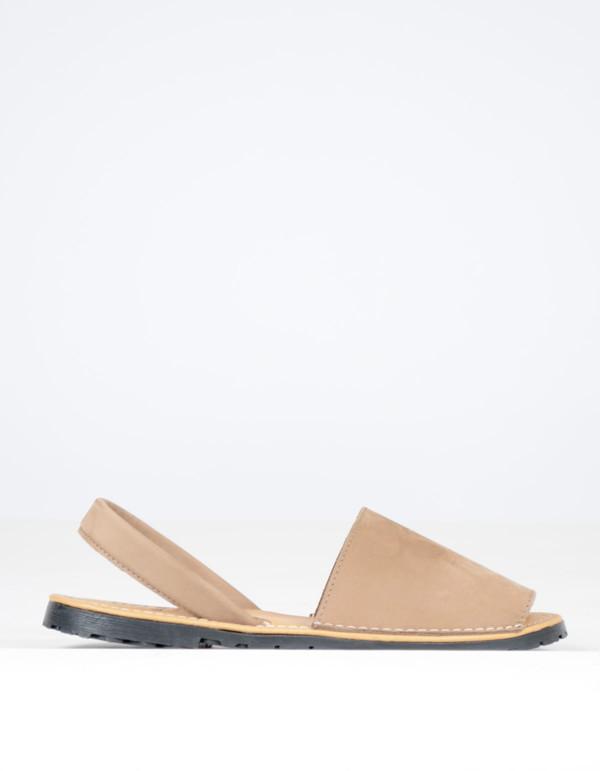 Alejandrina's Menorca Nubuck Shoe Taupe