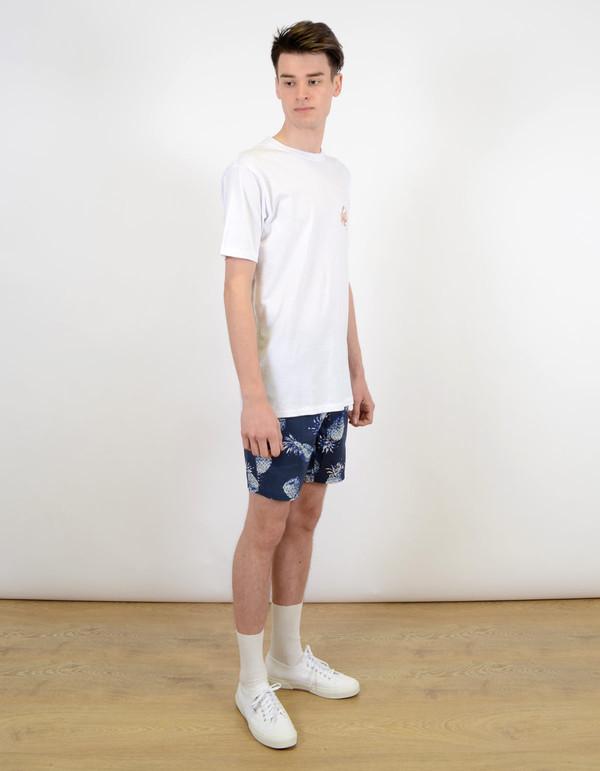 Men's Barney Cools Homie Crab Tee Shirt White