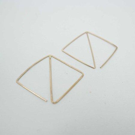 AOKO SU Psychic Earrings - Gold