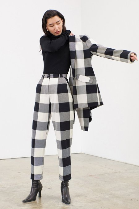 Mara Hoffman Tatum Jacket - Ensenada Plaid