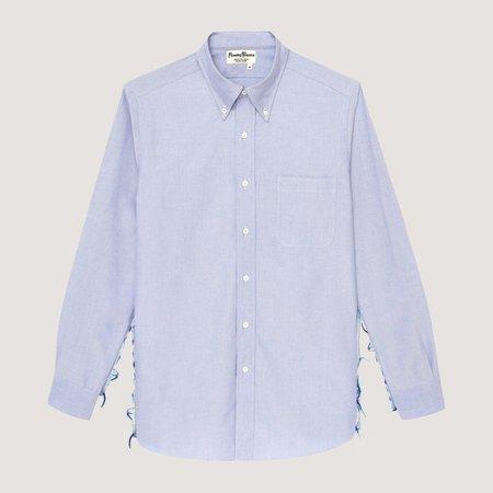 Rowing Blazers Distressed Oxford Shirt - Blue