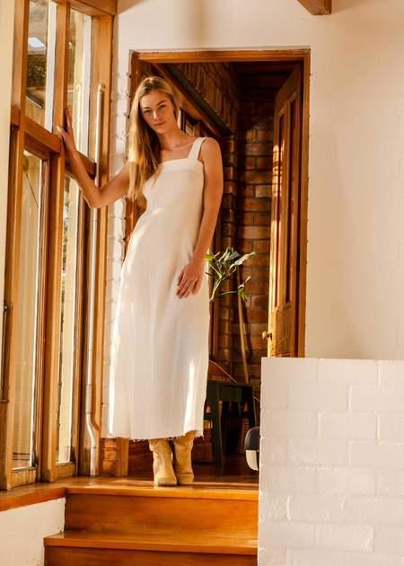 Penny Sage Cosmos dress - ivory