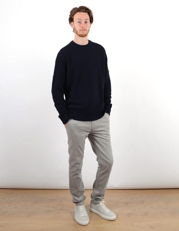 Filippa K Men's Mix Pattern Sweater Navy