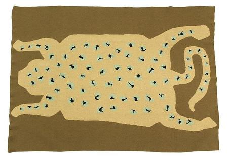 kids Cold Picnic Leopard Baby Blanket - Earth