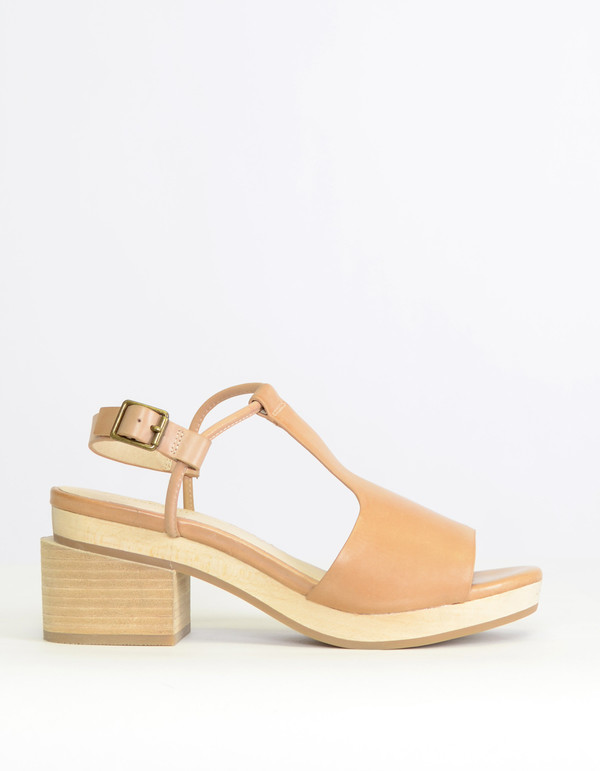Intentionally Blank Gabby Sandal Taupe