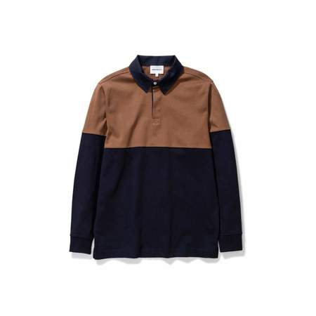 Norse Projects Ruben Polo - Color Block/Duck