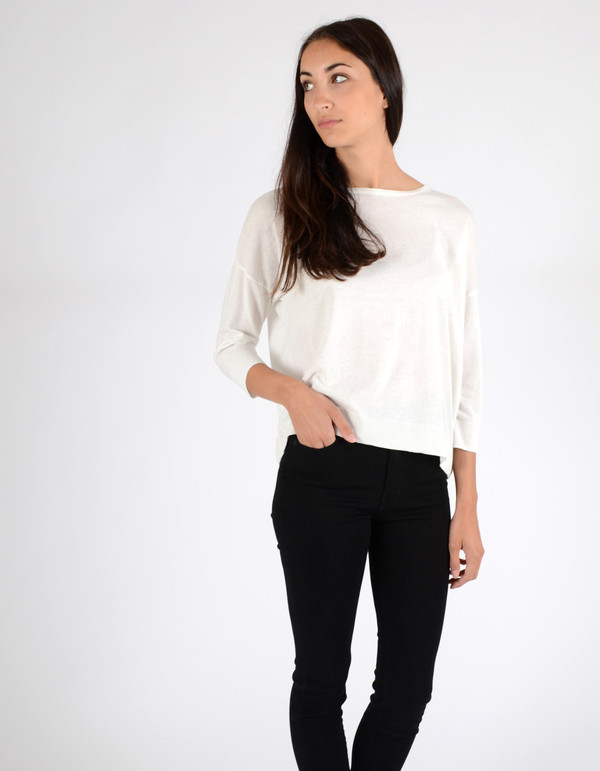 Just Female Naya Sweater White