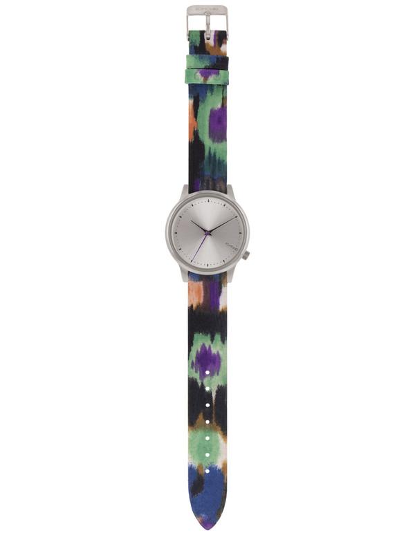 Komono Estelle Aquarelle Watch Blue