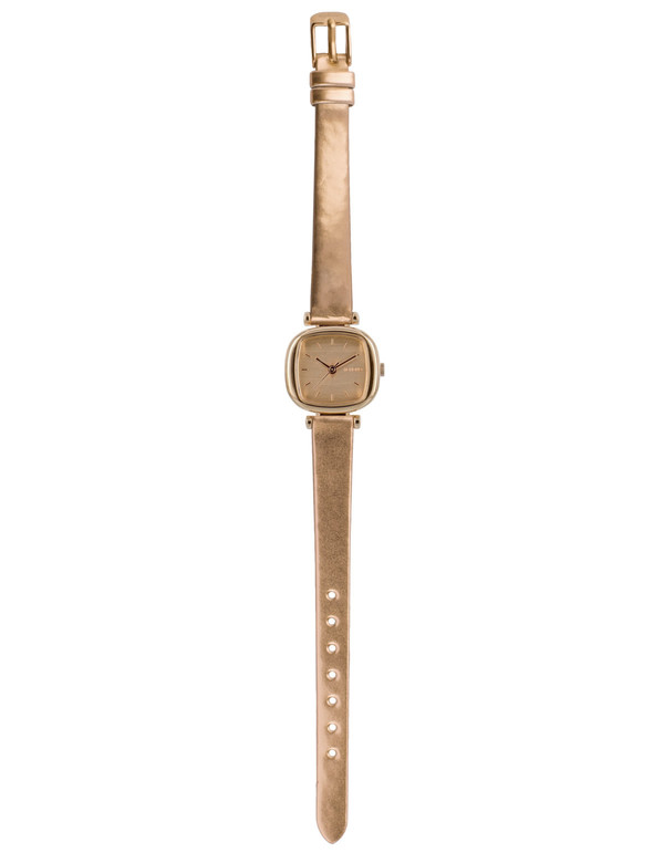 Komono Money Penny Metallic Watch Rose Gold