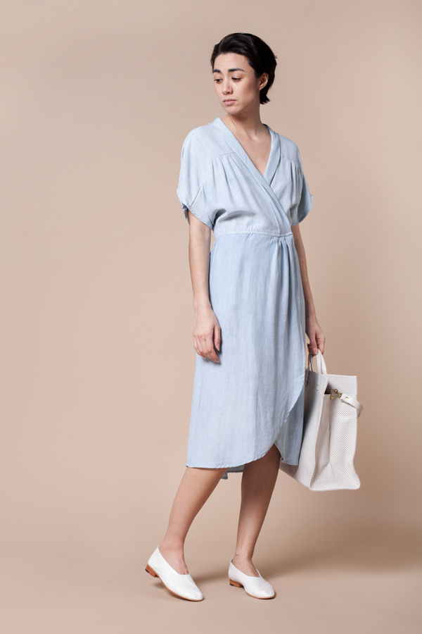 Objects Without Meaning Sofia Dress - sky