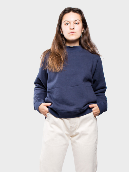 You Must Create Touche Pocket Sweat - Navy