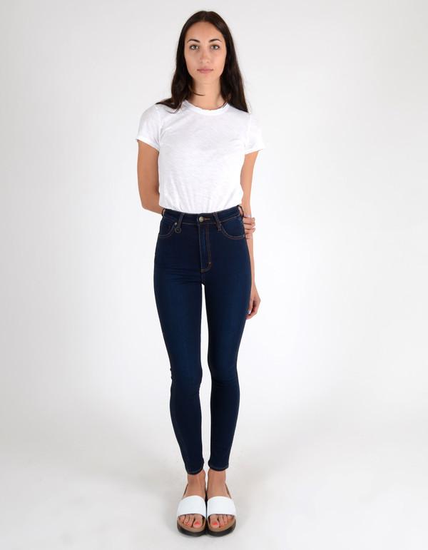 Neuw Marilyn High Rise Skinny Jean Pacific Silk