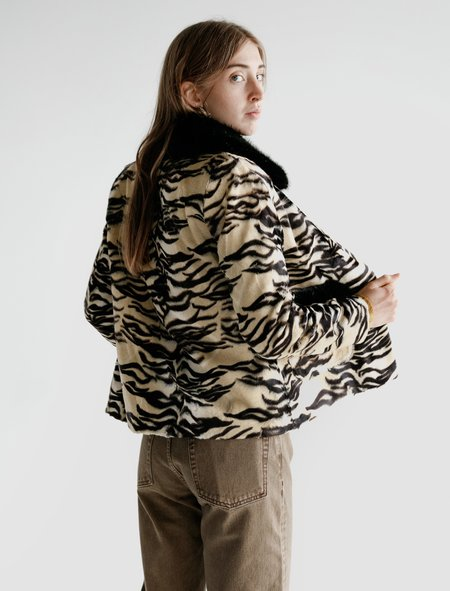Shrimps Duke Jacket - Tiger Print