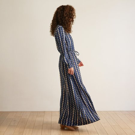 THE ODELLS Maxi Shirtdress - Kigali