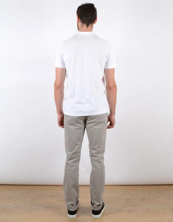 Men's No Nationality Pima Pique Solid Polo White