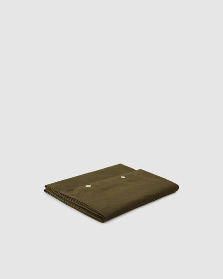 Shop Sunday Morning Marcel Linen Duvet Cover - Moss