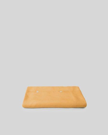 Shop Sunday Morning Marcel Linen Duvet Cover - Mustard