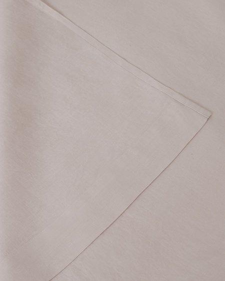 Shop Sunday Morning Marcel Linen Fitted Sheet - Blush