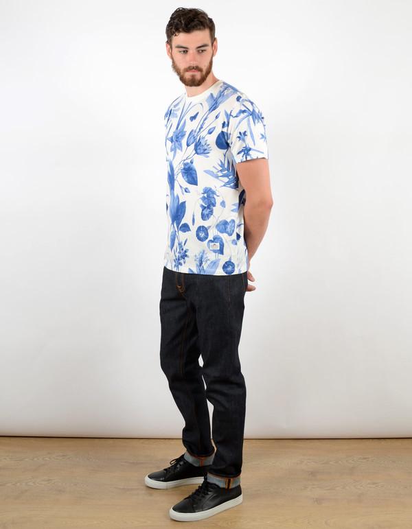 Men's Penfield Wilson Botanical Tee Blue