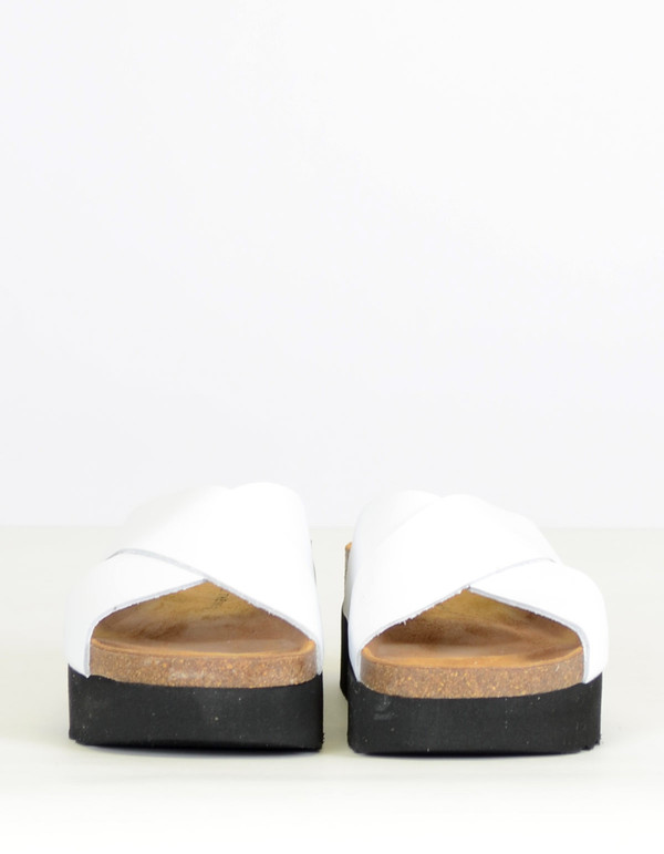 Shoe The Bear Aiko II Slide White