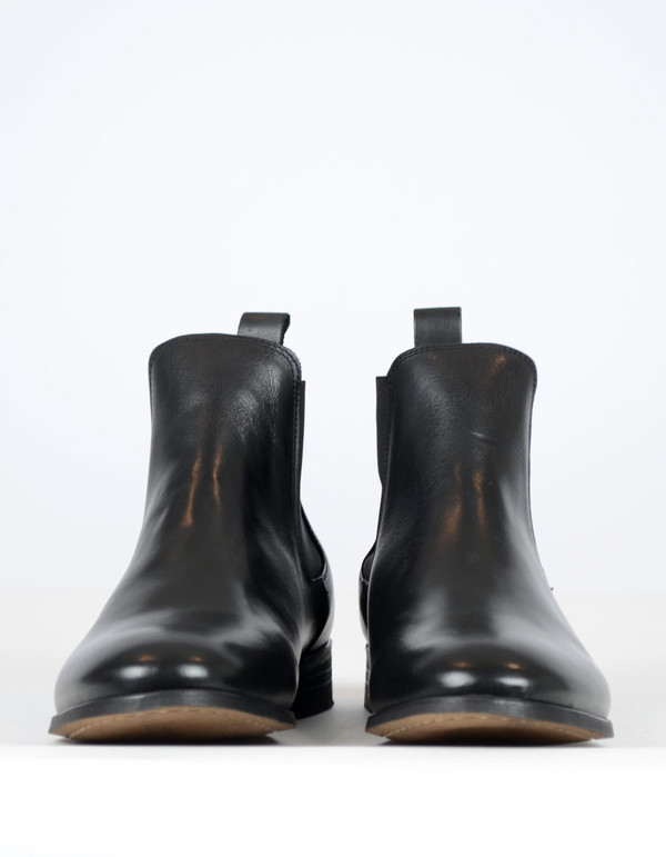 Men's Shoe The Bear Chelsea Boot Black Leather