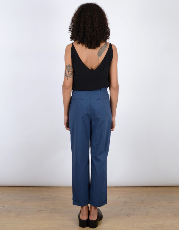 Storm & Marie Noah Tailored Pant Dark Denim