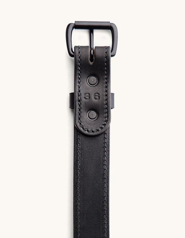 Men's Tanner Goods Heritage Belt Black Black