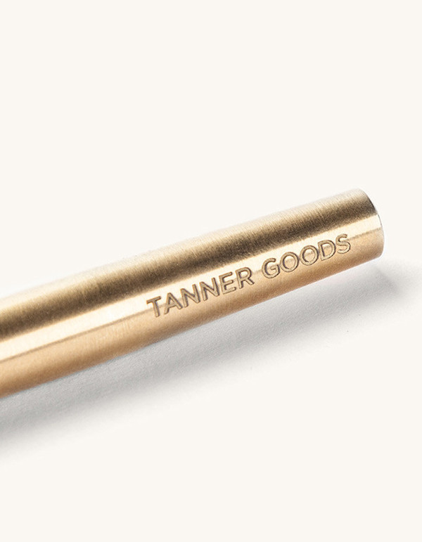 Tanner Goods Memori Pen Brass