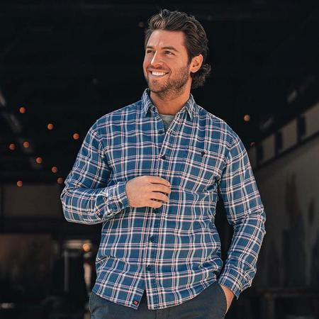 The Normal Brand Frankfort Shirt - Indigo Twill