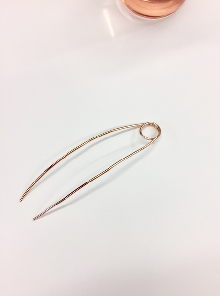Bartleby Objects Loop Hairpin - Bronze
