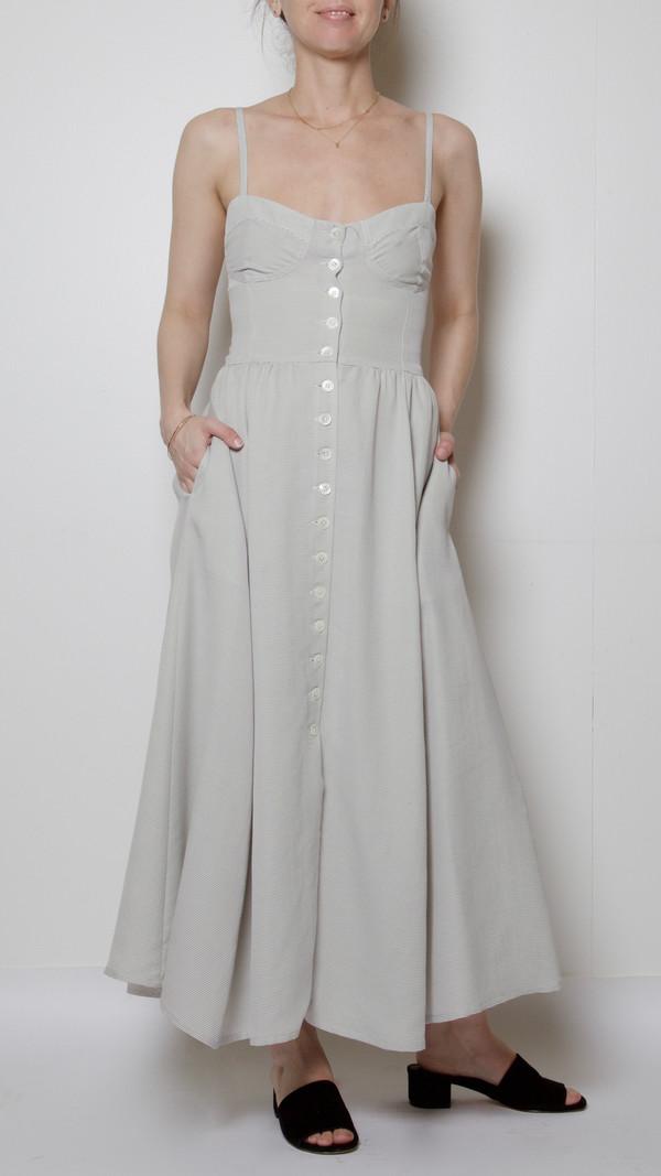 Maryam Nassir Zadeh Carnelia Dress in Black/White